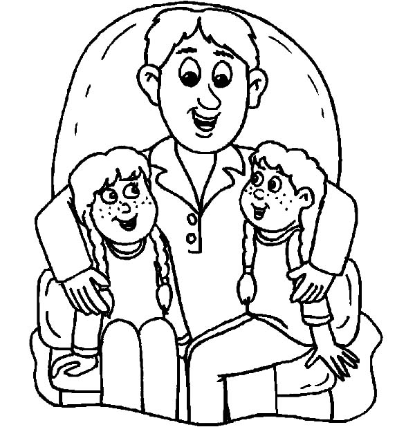 We sit daddys lap i love dad coloring pages coloring sky, i love my daddy coloring pages