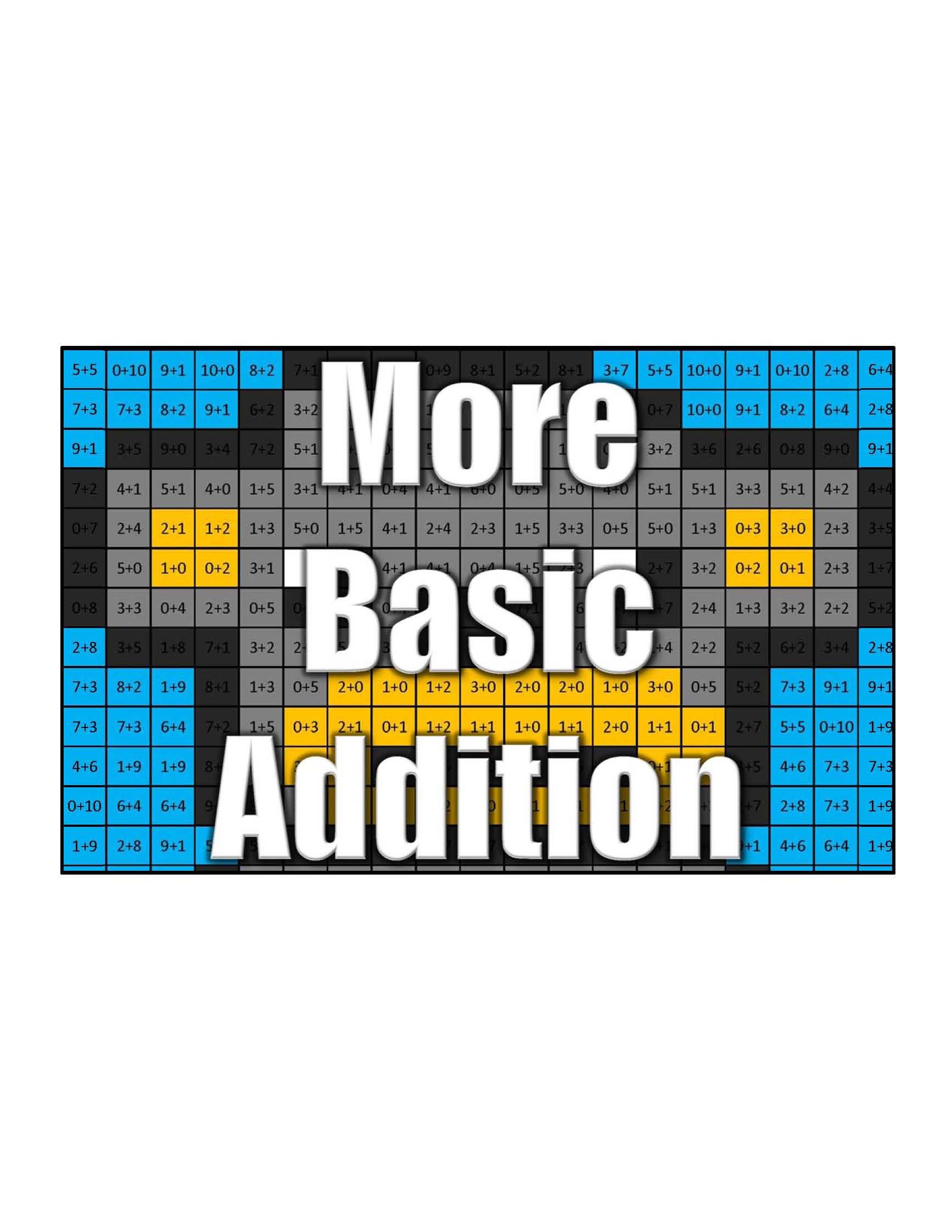 Get More Basic Addition