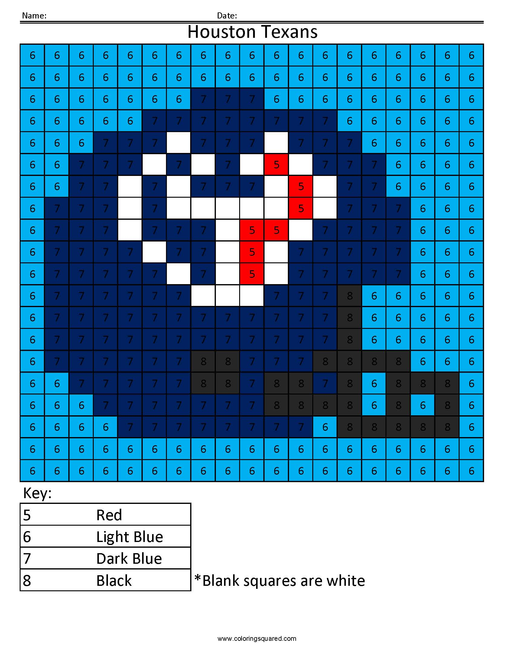 Gambar Afc Addition Subtraction Coloring Squared Pixel Art