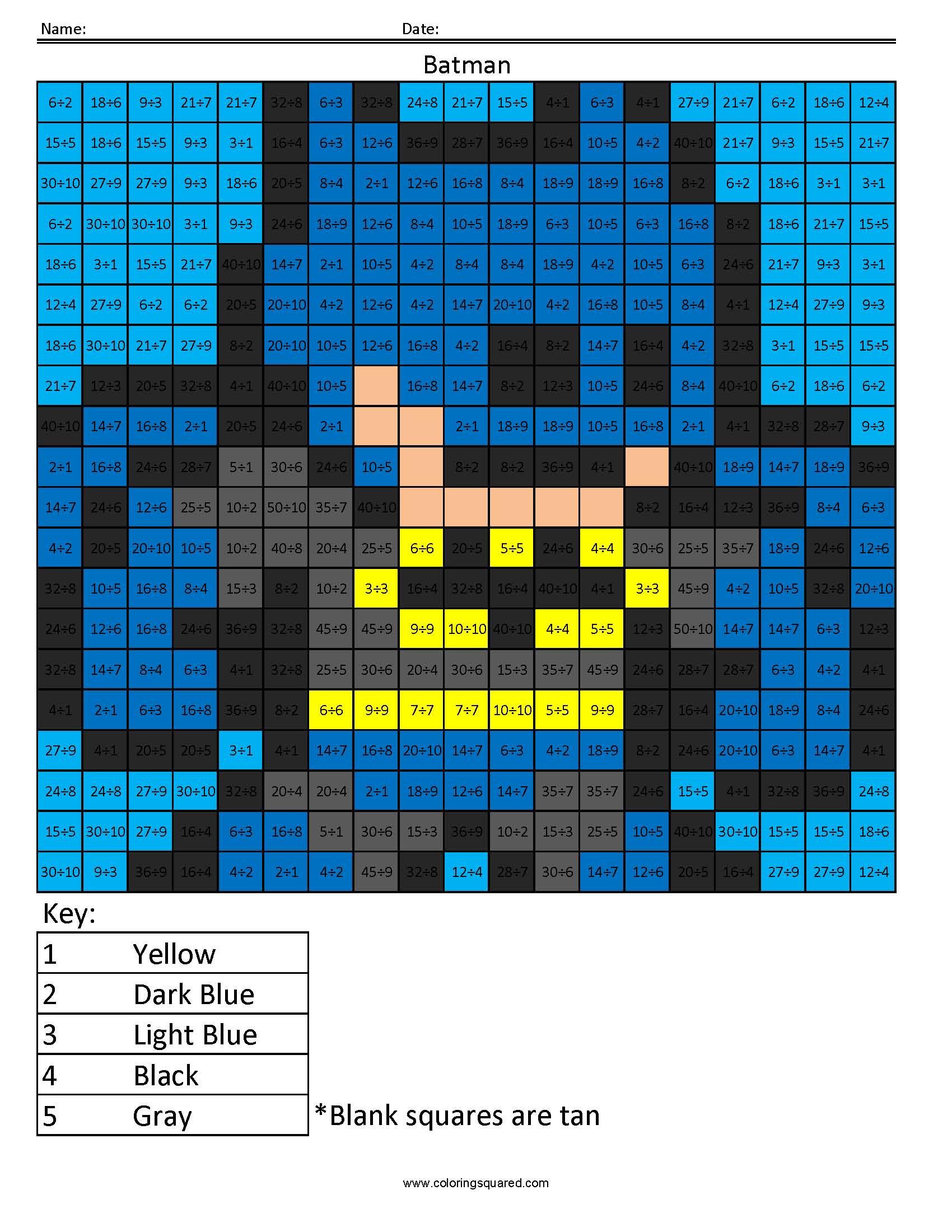 Batman Basic Division