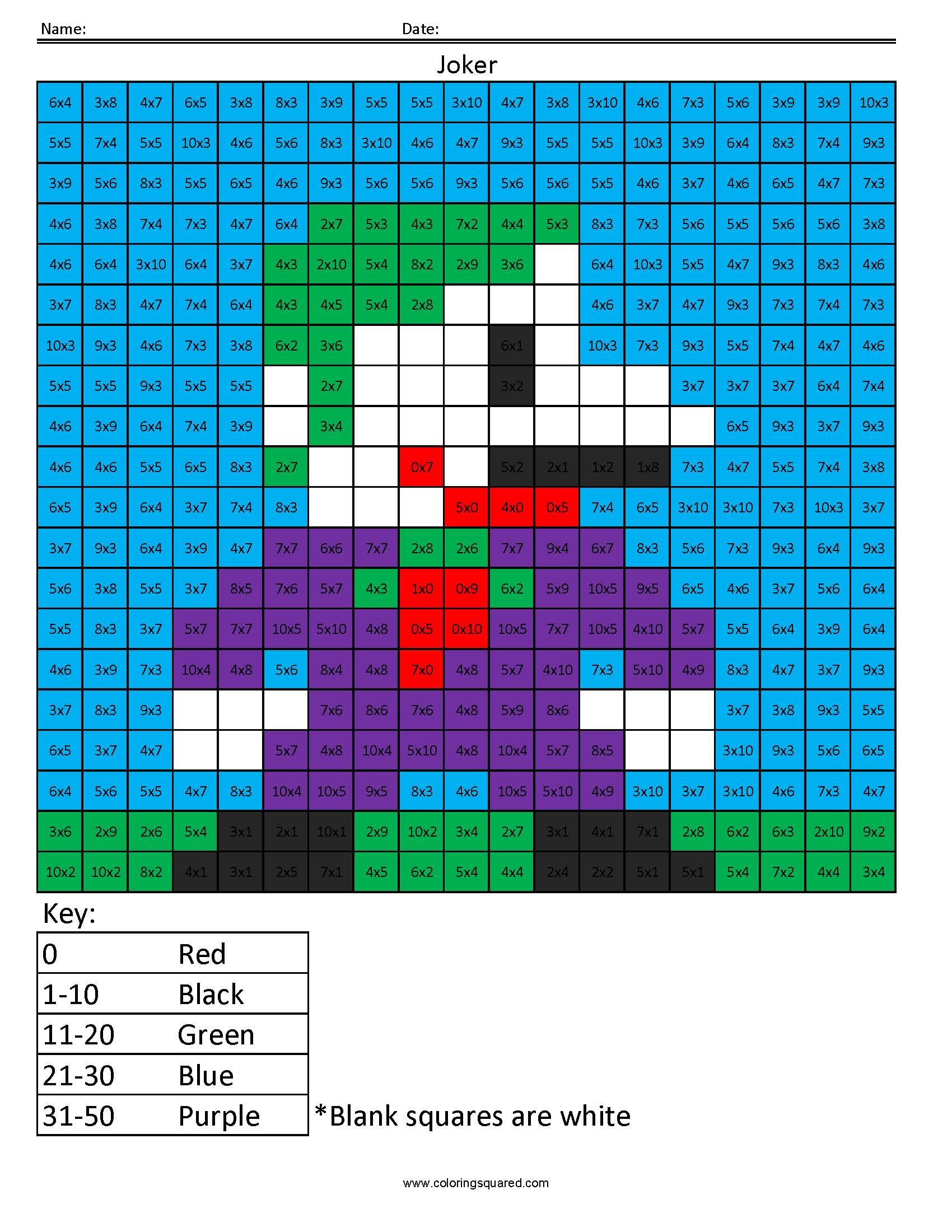 Joker Basic Multiplication