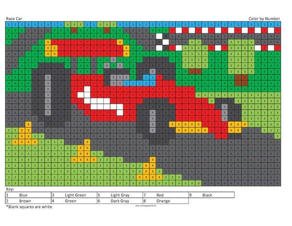 Megapixel Originals Coloring Squared
