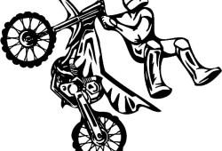 Coloring Pages Quad Bike