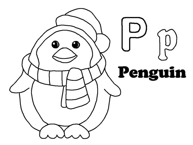 download letter p in fairy alphabet world coloring pages