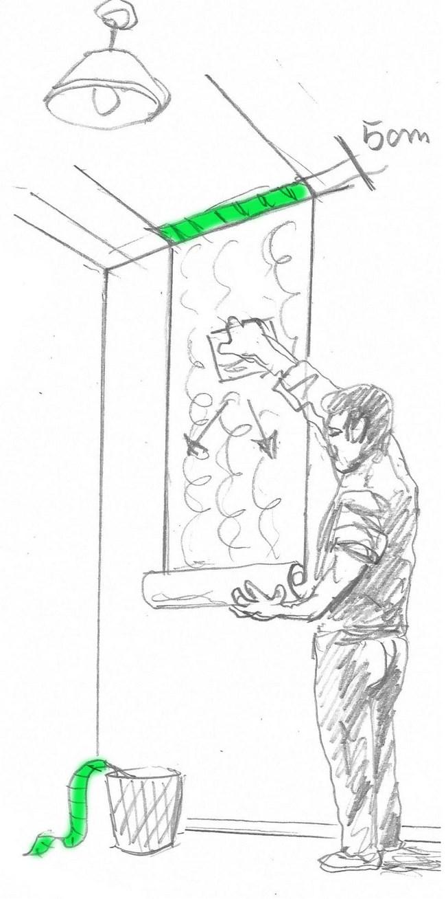 Strappare uno strato di carta sul retro e incollare la carta da parati piatta sul muro. Come Mettere La Carta Da Parati Guida Infallibile Per Applicare Senza Errori Colorivernici It