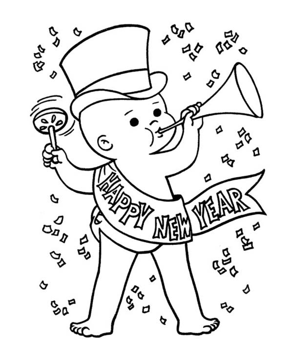 new years eve new year drawings