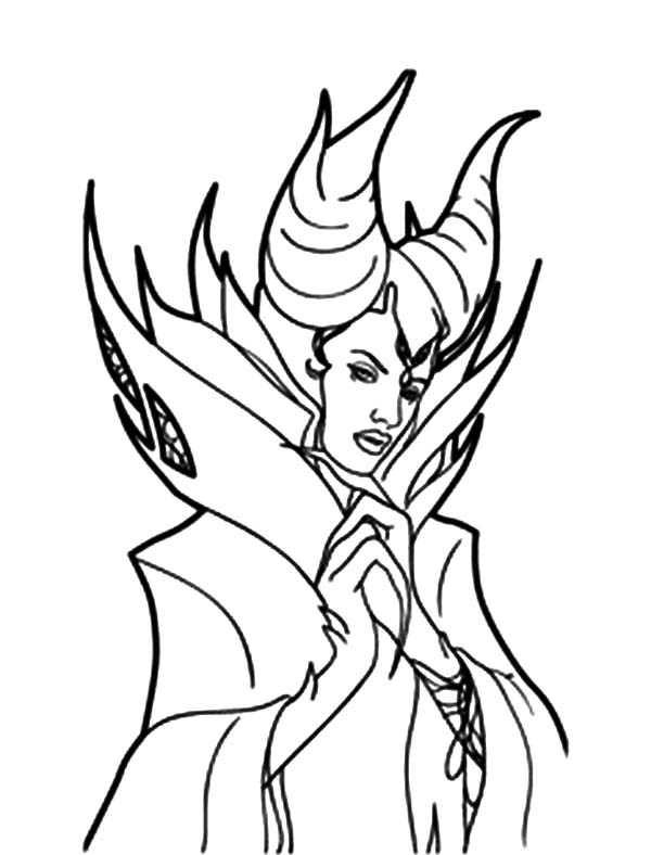 sleeping beauty maleficent coloring pages  color luna