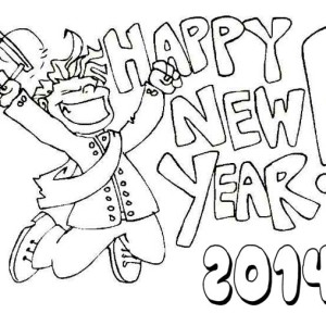 party new year drawings