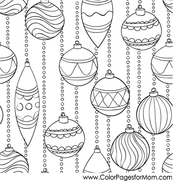 adult christmas coloring pages # 28