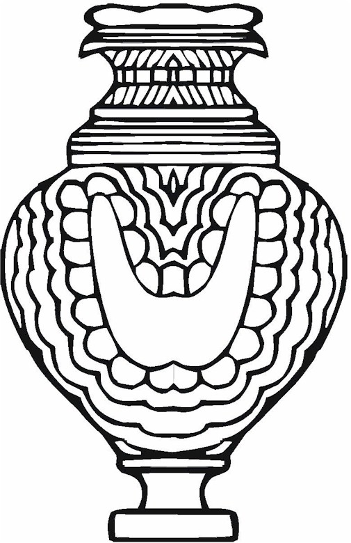 Vase Amp Pottery Coloring Page