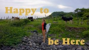 """【待望の】Coco Ho最新クリップ""""Happy to be Here""""は僅か3日間で最高の波をスコアしたメキシコトリップを収録!!"""