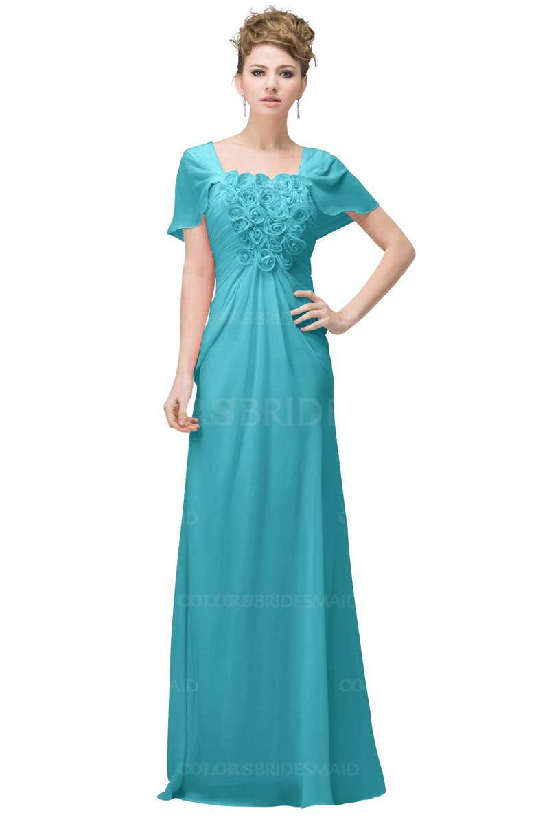 ColsBM Luna Turquoise Bridesmaid Dresses ColorsBridesmaid