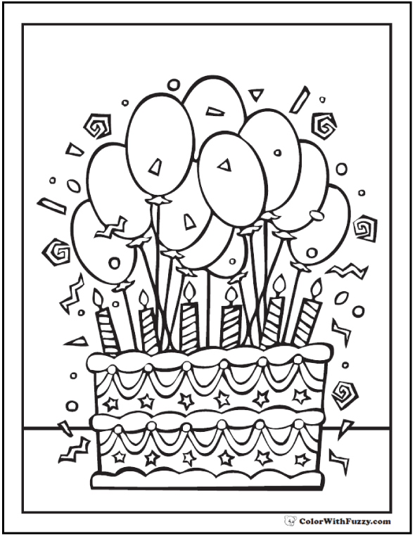 Printable Coloring Pages Relax Got Kids Color With Fuzzy