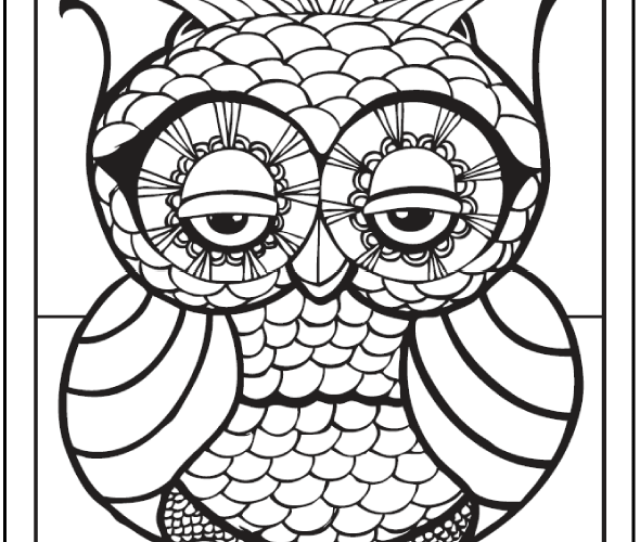 Geometric Coloring Pages To Print And Customize