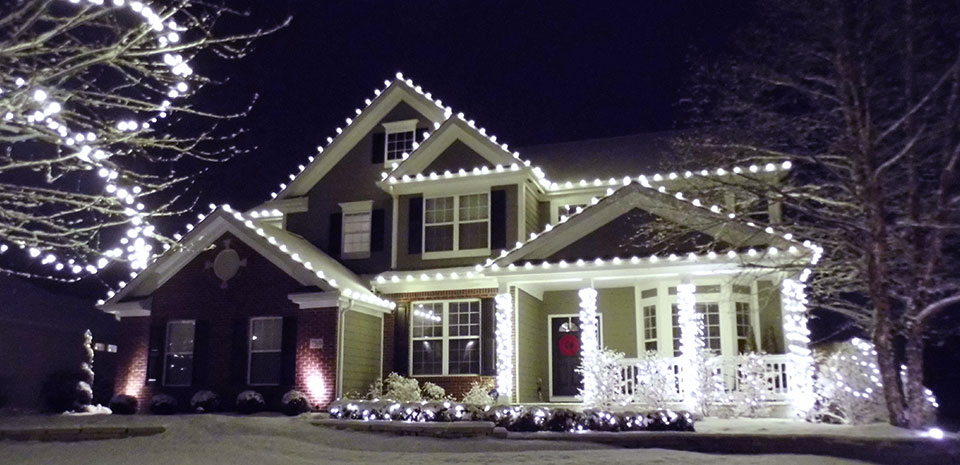 holiday lighting commercial painting