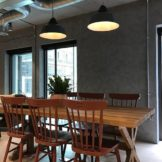 Marmorino Polished Plaster at London Offices