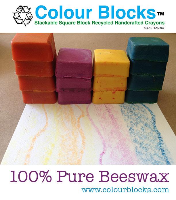 beeswax crayons kids