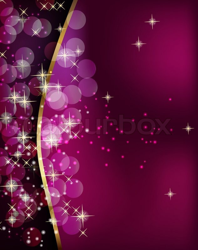 Abstract Beauty Christmas And New Year Background Stock