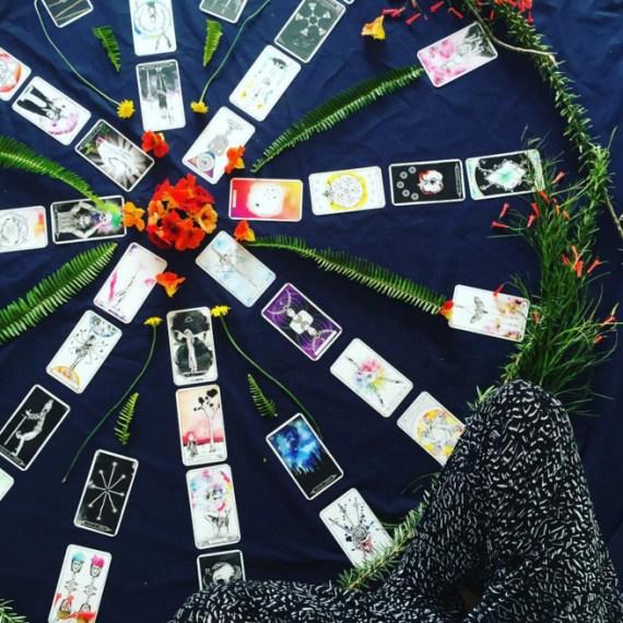 Inner Hue Lumina Tarot illustration and design by Tegan Swyny of Colour Cult, Brisbane.