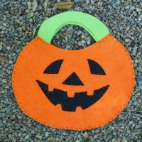 DIY Great Pumpkin Trick or Treat Bag