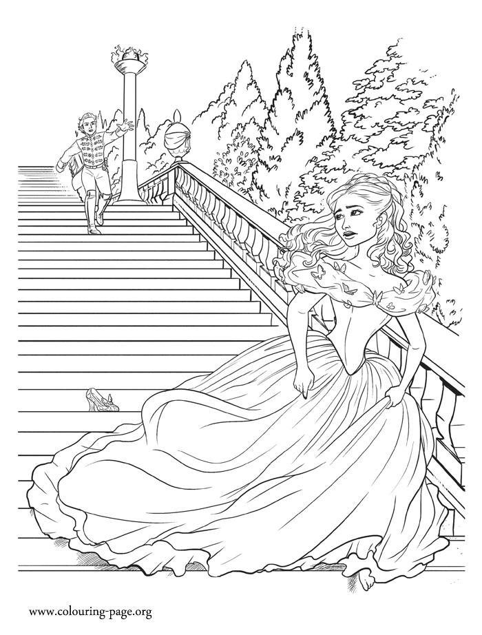 Cinderella Cinderella Running Away From The Prince
