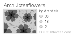 Archi.lotsaflowers, Architela