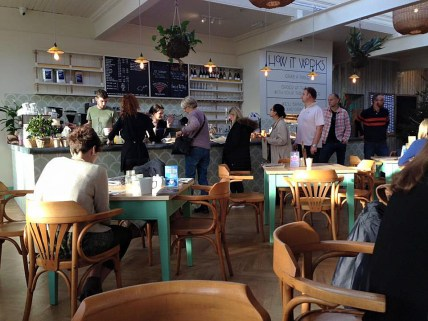 Boston Tea Party Alfred Stree Bath the Queue