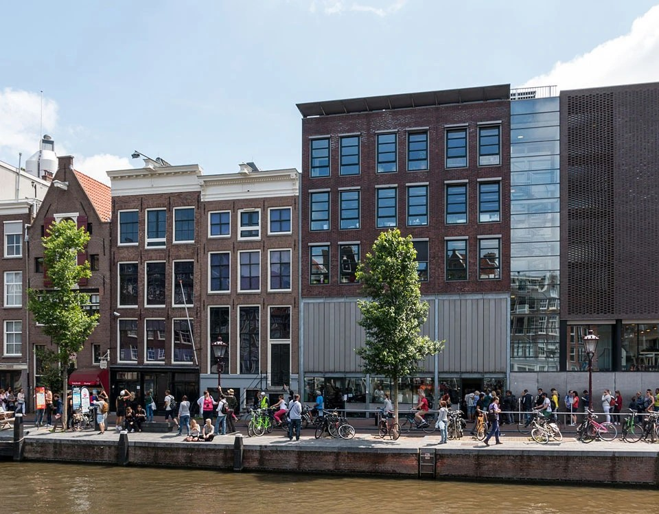 Museum building next to Anna Frank House
