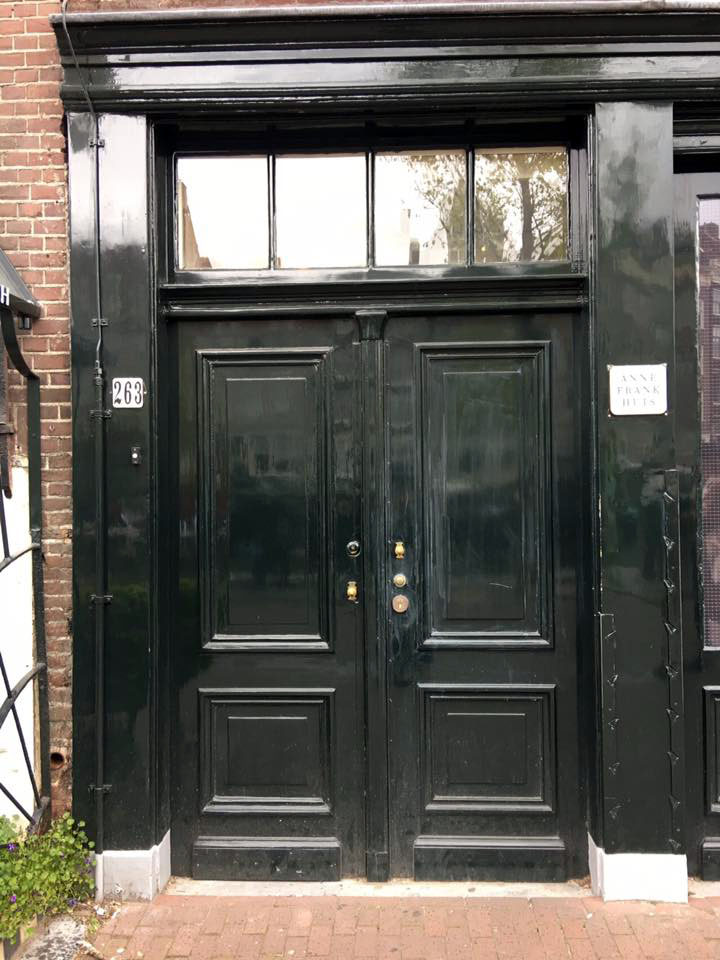 Anne Frank House 263 Building Entrance