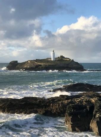 Godrevy Lighthouse Close Up