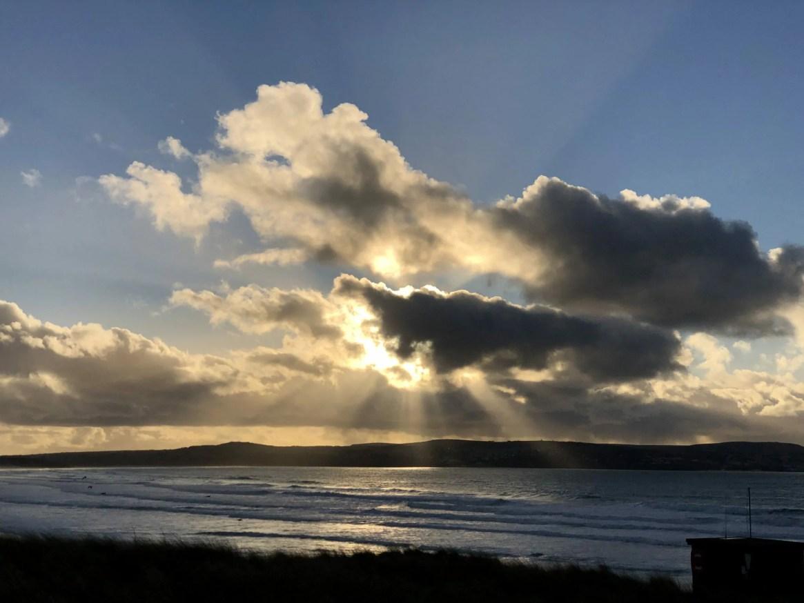 Sun Rays Sun Set