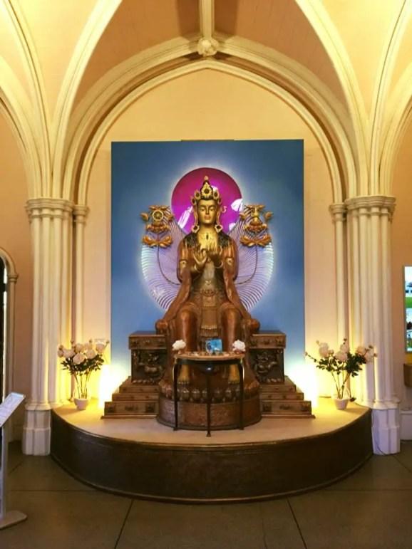 Conishead Prior Statue of Buddha