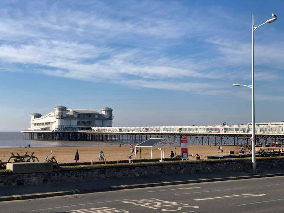 The Grand Pier from Across the Road