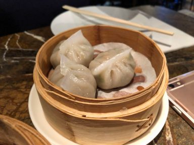 Duck and Rice Chui chow dumpling