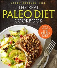 Book cover: the real Paleo Diet cookbook
