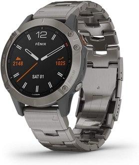 Fenix 6 Sapphire Titanium
