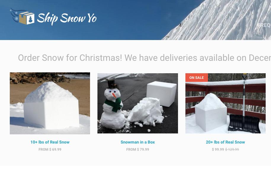 Ship Snow