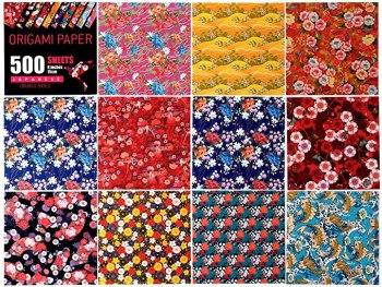 Japanese Washi Origami Paper 500 Sheets