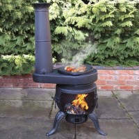 Top 10 Best Chimineas - Outdoor heating in the winter, BBQ grill for summer