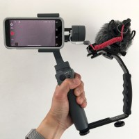 Budget Smartphone Video Rig: Mount DJI Osmo Mobile 2, iPhone X & Rode MicroVideo