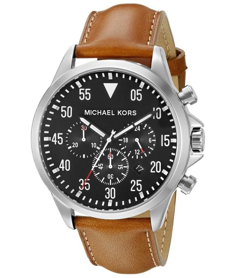Michael-Kors-Mens-Gage-Brown-Watch-MK8333