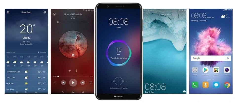 Huawei P Smart with EMUI8