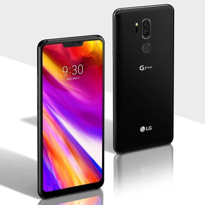 LG G7 ThinQ Aurora Black