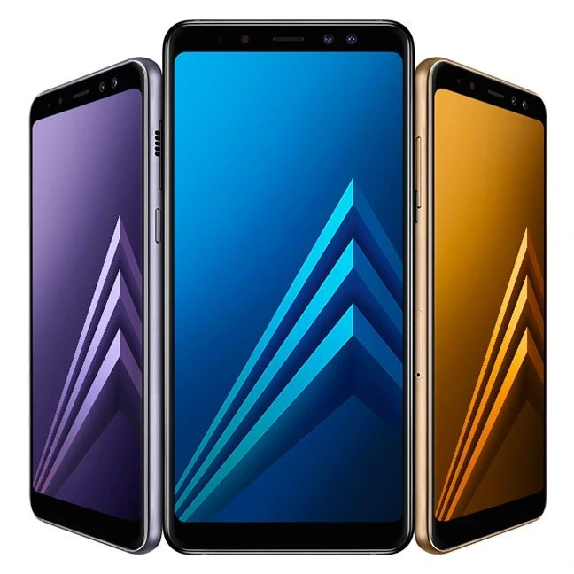 Samsung Galaxy A8 and A8 Plus on Amazon