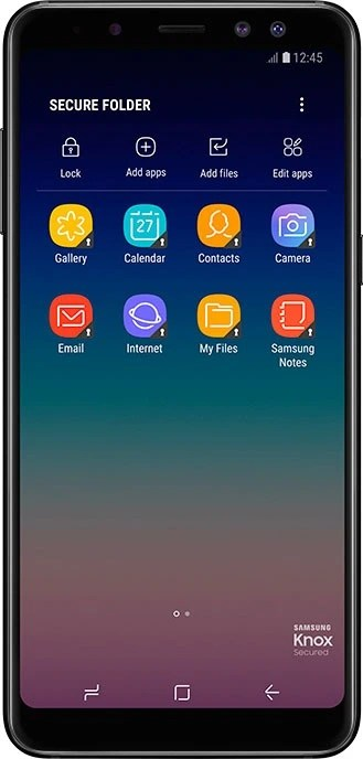 Secure Folder on Galaxy A8