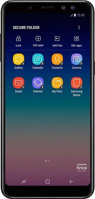 Secure Folder on Galaxy A8