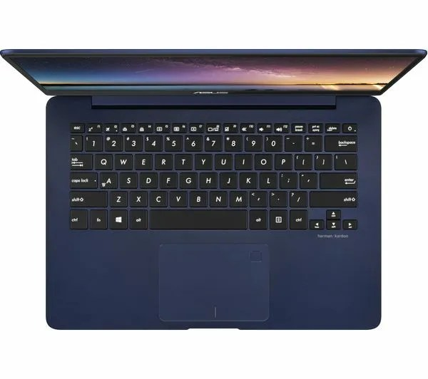 ASUS-ZenBook-UX430 Keyboard and Touchpad