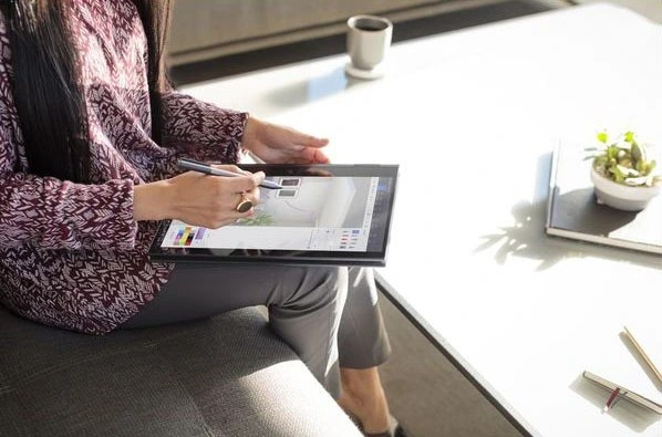 HP ENVY x360 13 tablet mode