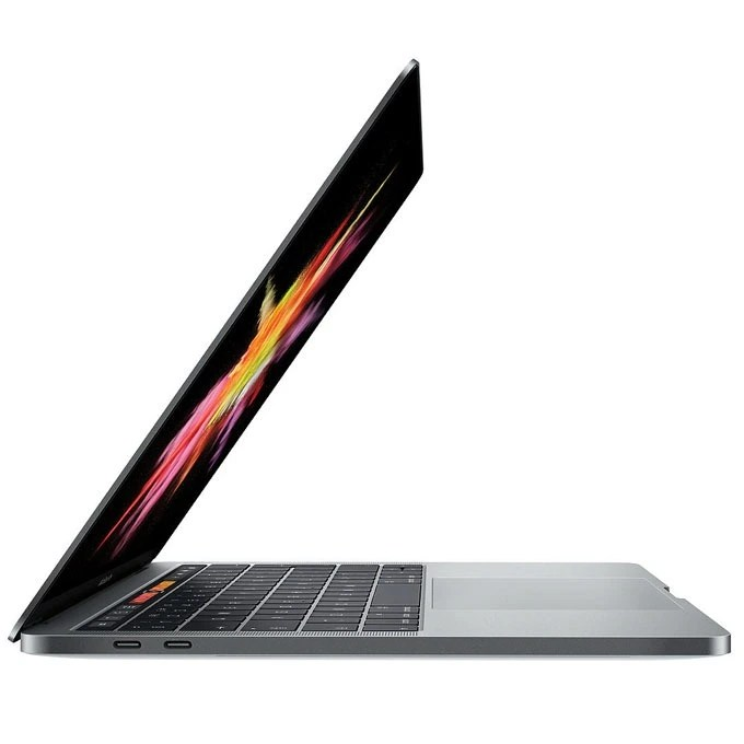 MacBook Pro 13-inch Touch Bar 2017 Side View