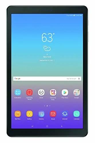 Samsung Galaxy Tab A 10.5-inch Tablet Home Screen